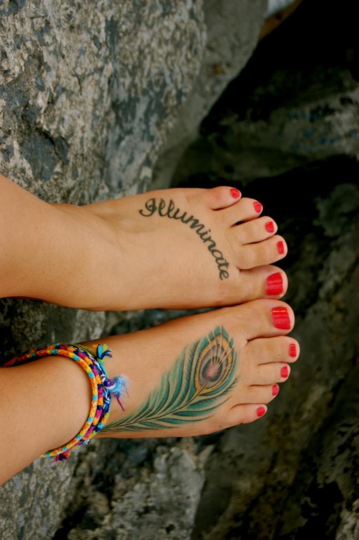 Tatouage Plume Id Es Inspirantes De Tatouage Et Signification