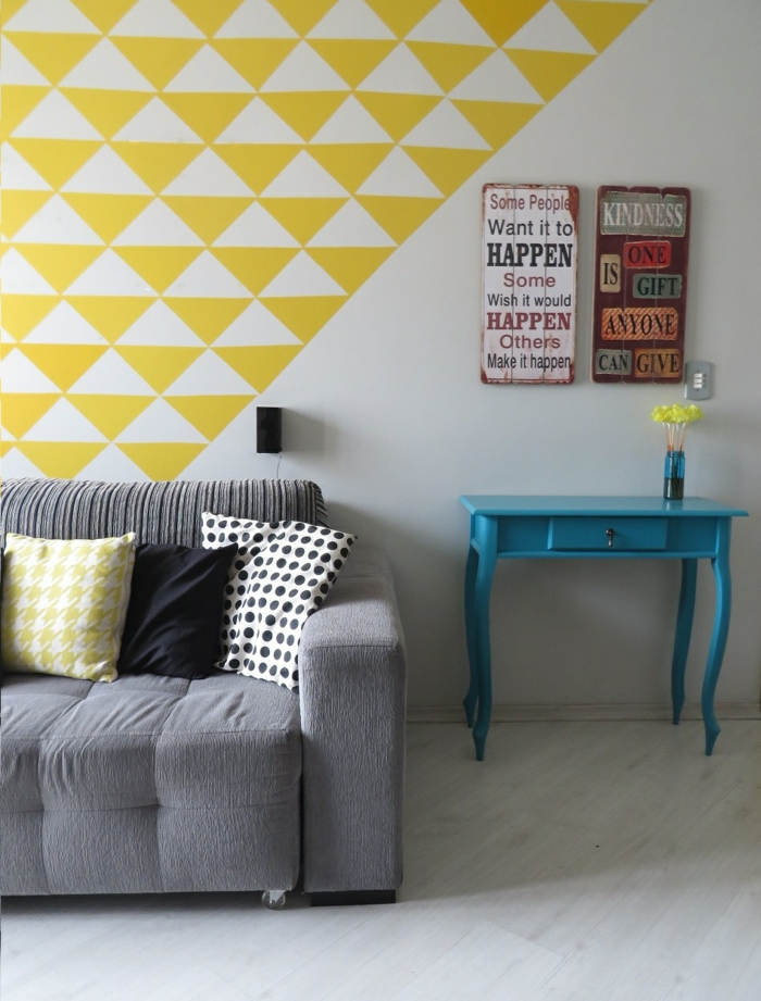 transformer les murs avec un papier peint scandinave