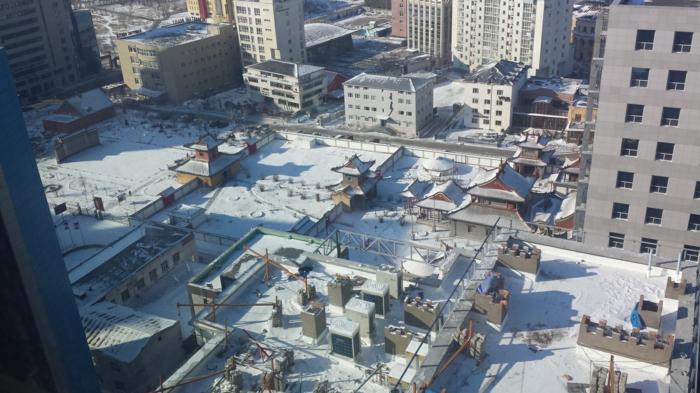 ville oulan-bator en hiver