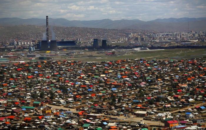 ville oulan-bator gers traditionnels mongols