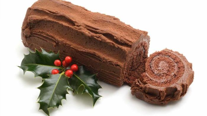 yule log recette idée bûche de noël au chocolat