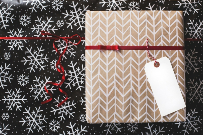 étiquettes noël pour un cadeau