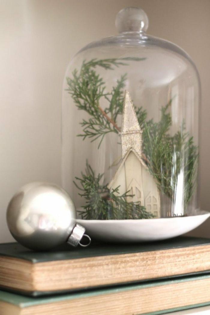 ambiance festive avec cloches en verre