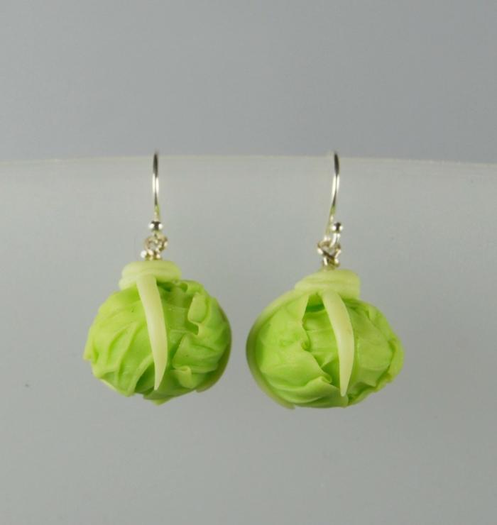 boucles d'oreilles cadeau vegan