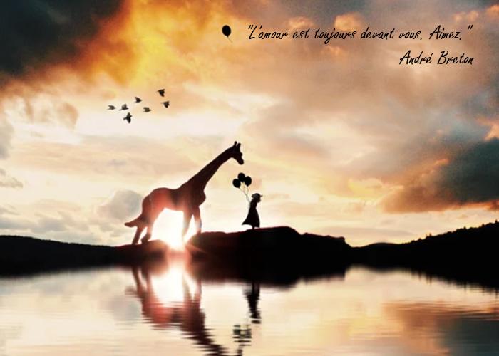 citations d'amour l'amour est toujours devant vous