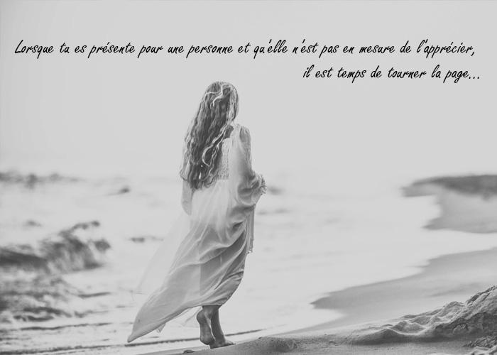 citations d'amour lorque tu es présent pour une personne