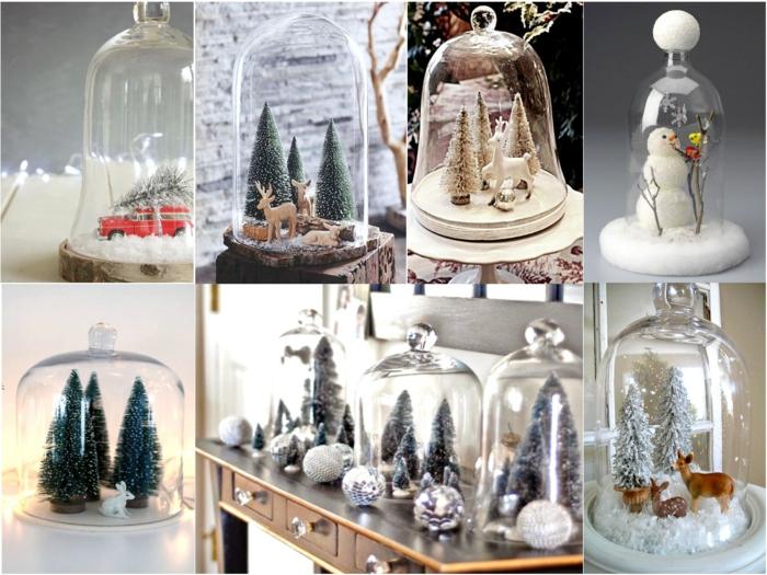 cloches en verre pour une ambiance festive