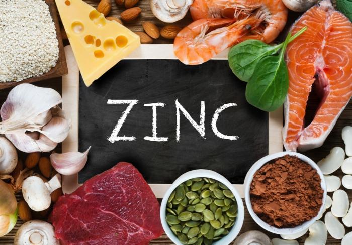 le zinc pour faire pousser les cheveux plus vite