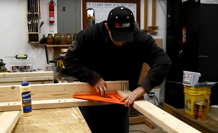 construire un lit superposé les pieds
