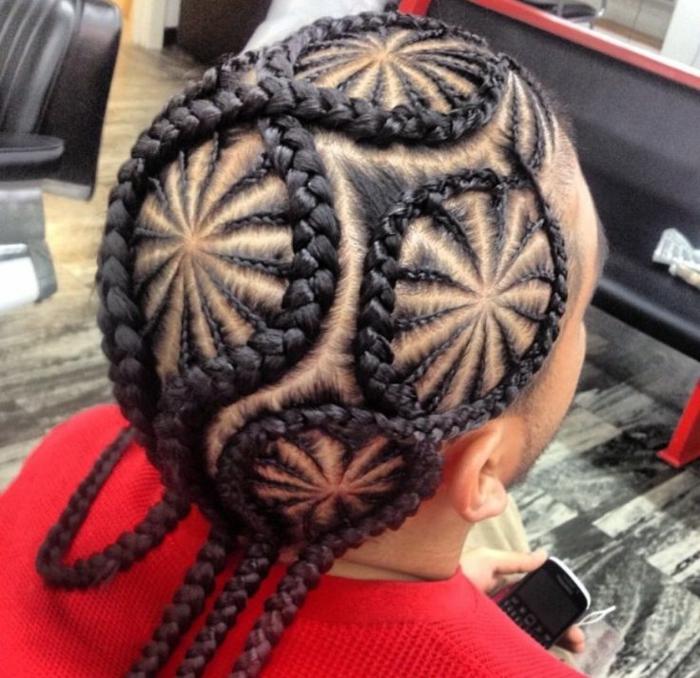 cornrows braids coiffure homme tresse africaine
