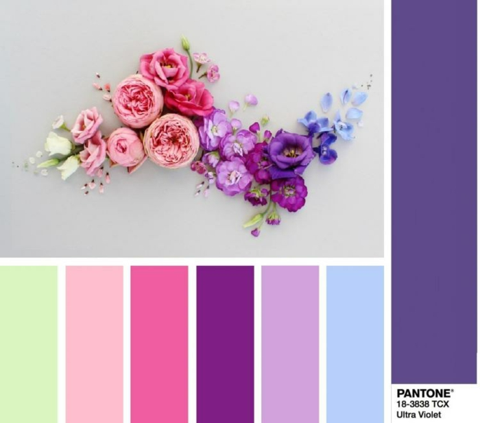 ultra violet la couleur de l 39 ann e 2018 choisie par pantone. Black Bedroom Furniture Sets. Home Design Ideas