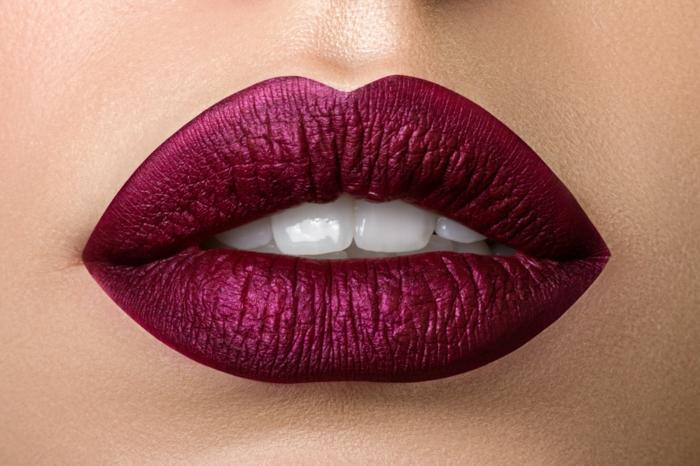 couleur tendance pour les lèvres comment se maquiller