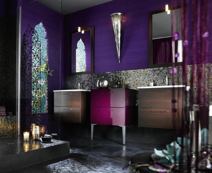 design intérieur en ultra violet