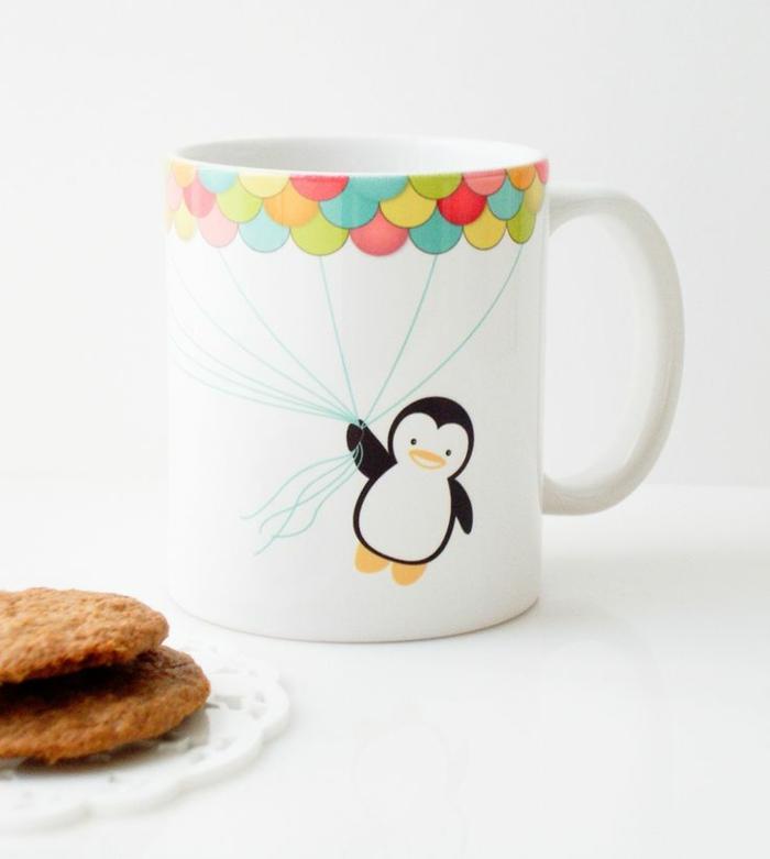 dessiner sur une tasse mug personnalisé
