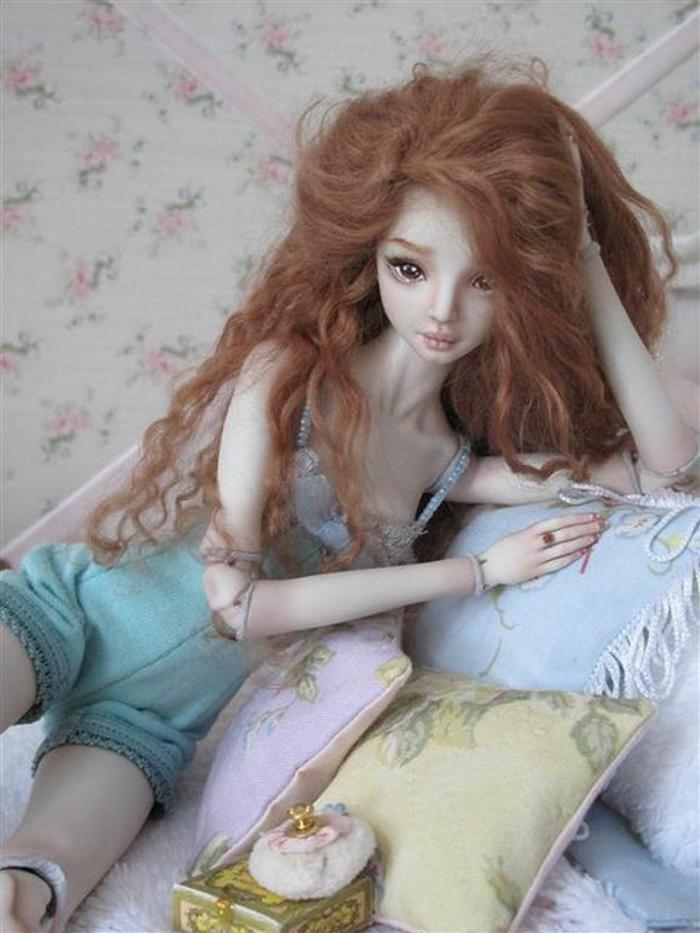 enchanted doll artiste marina bychkova poupée réaliste