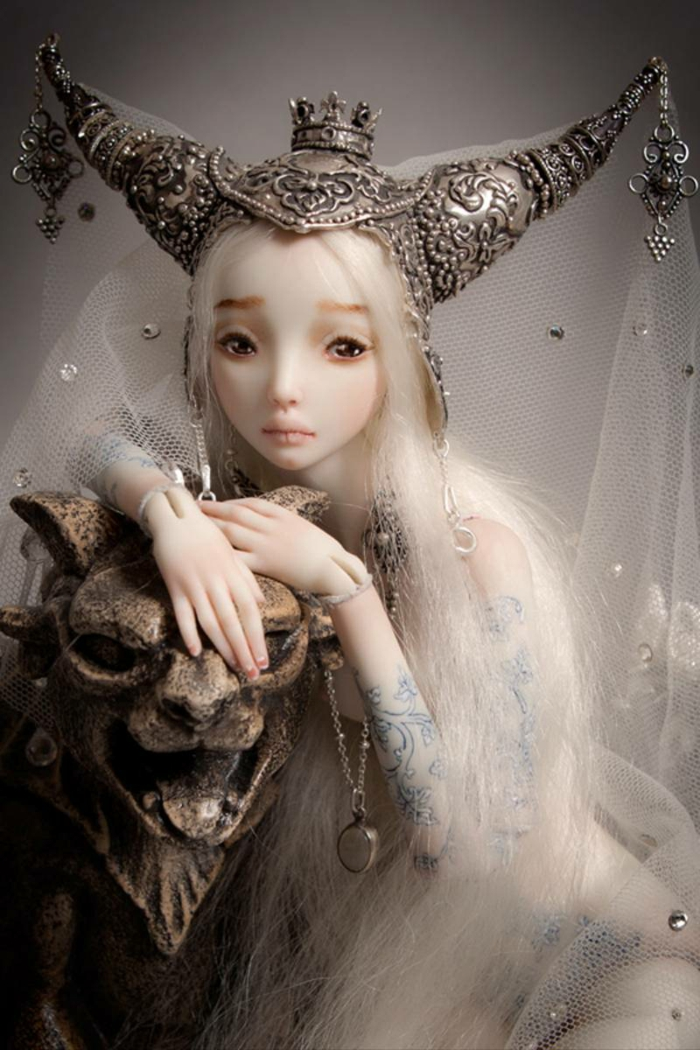 enchanted doll marina bychkova princesse poupée réaliste