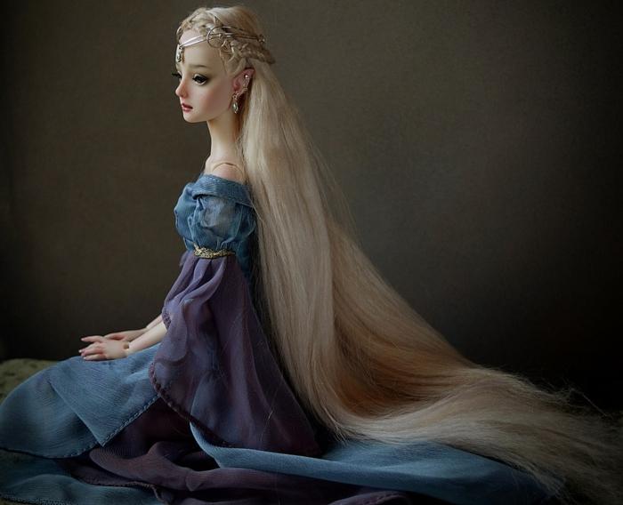 enchanted doll poupée réaliste marina bychkova