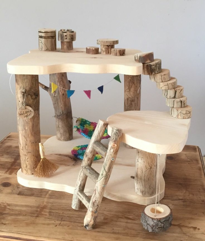 fabriquer maison de poupée en bois