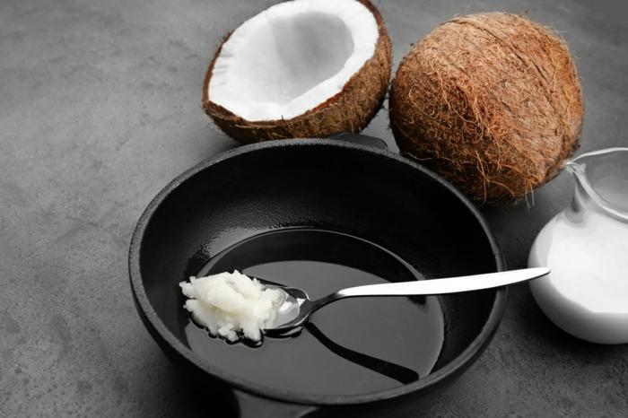 faire pousser les cheveux plus vite avec huile de coco