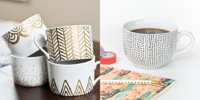 idée à réaliser soi-même mug personnalisé