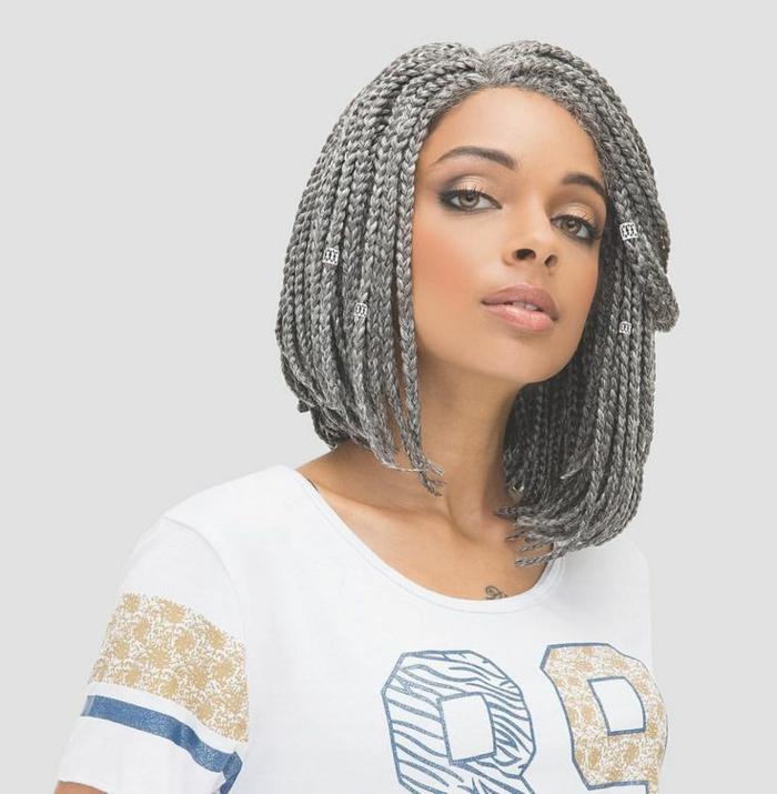 idée tresse africaine coiffure carré plongeant