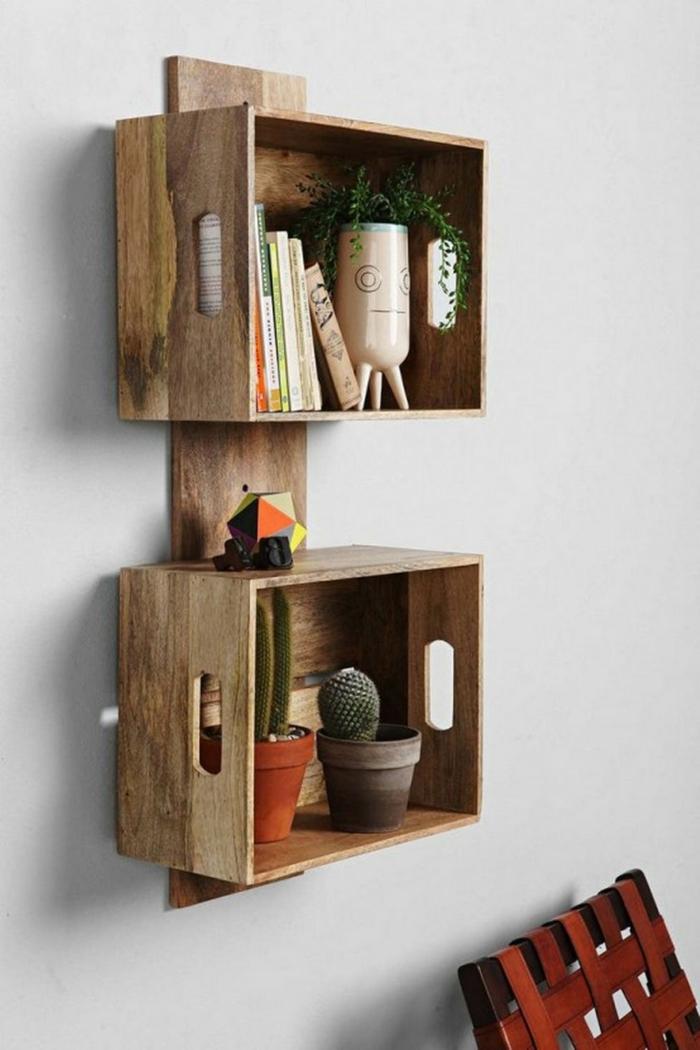 la caisse de vin en bois id es d co faciles pour votre maison. Black Bedroom Furniture Sets. Home Design Ideas