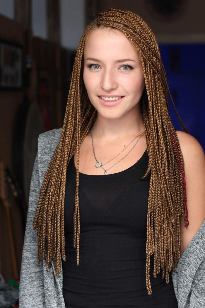 idées tresse africaine pour cheveux longs
