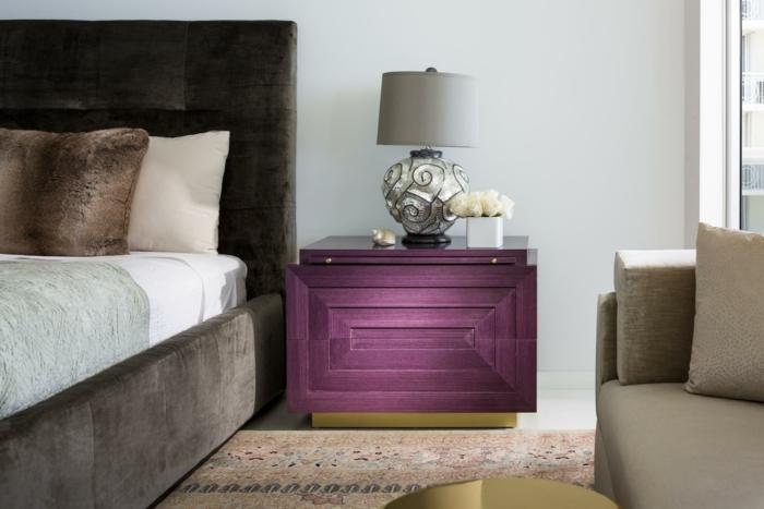 intérieur idées en ultra violet