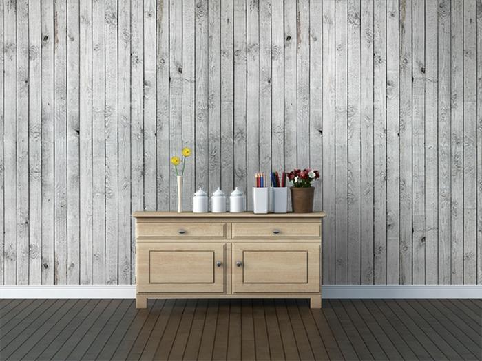 intérieur rustique papier peint imitation bois