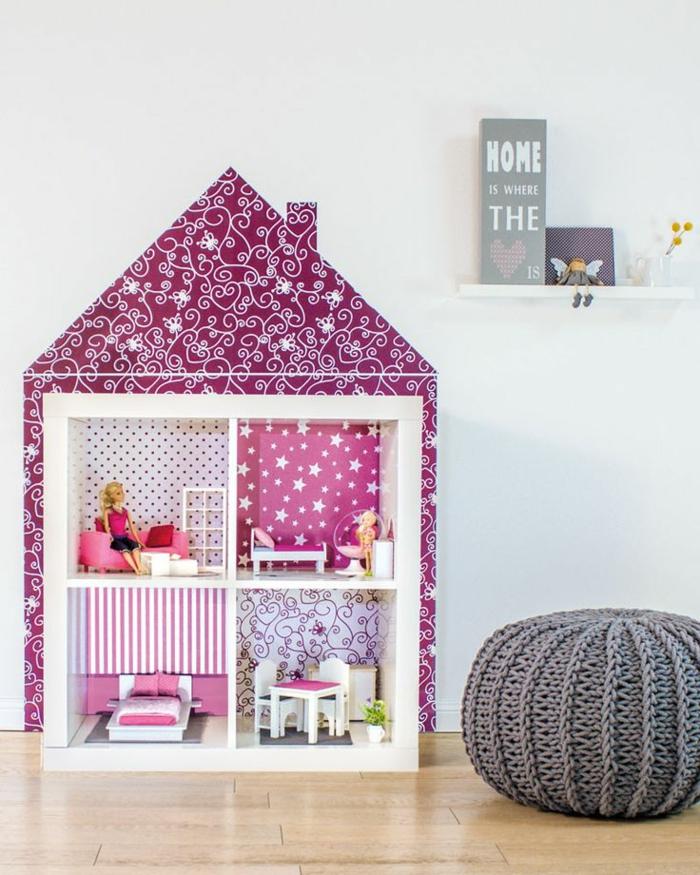jouet d'enfant maison de poupée en bois