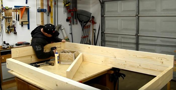 lit superposé à construire vous-même cadres du lit