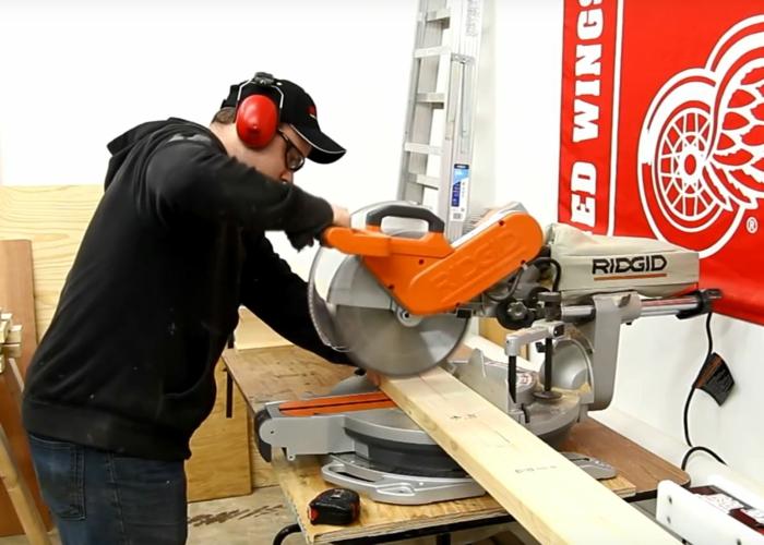 lit superposé à construire vous-même couper les matériaux