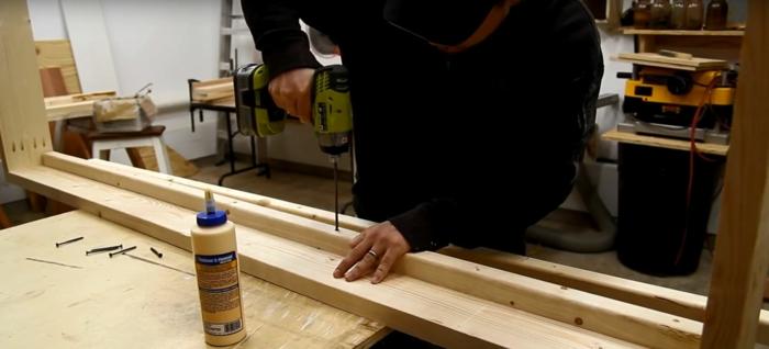 lit superposé à construire vous-même percer les matériaux