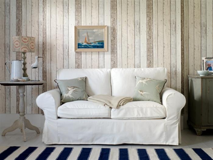 maison de campagne papier peint imitation bois