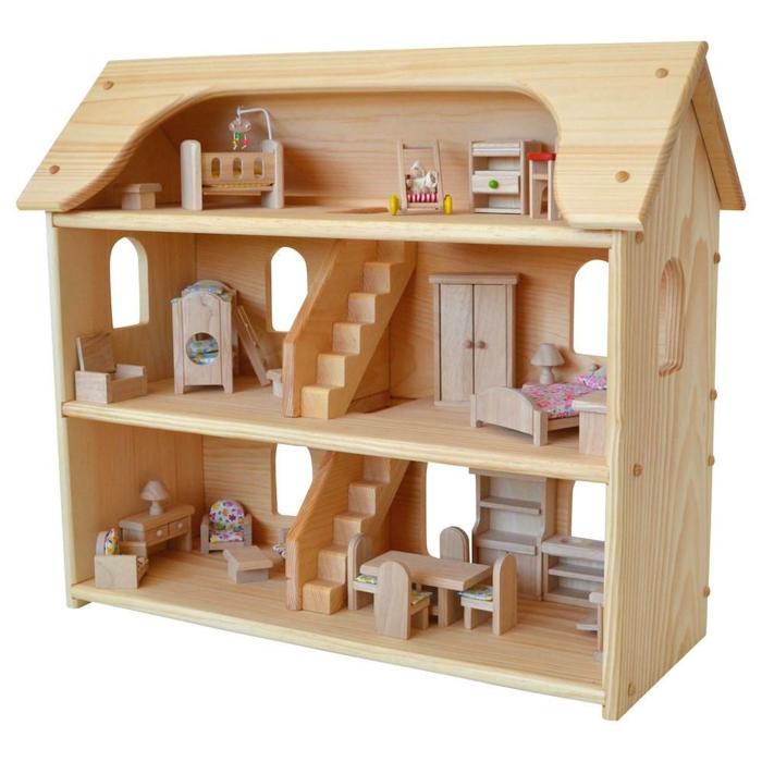 maison de poupée en bois idée créative plan