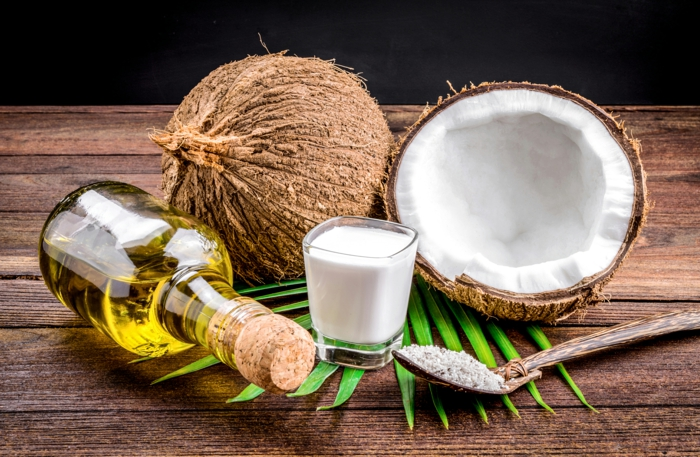 noix de coco huile hydratante