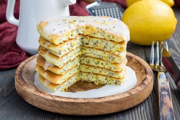 pancakes idée avec graines de chia