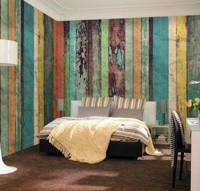 Papier Peint Imitation Bois : Importez De La Chaleur Dans Votre Intérieur