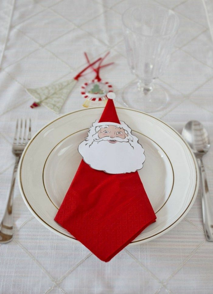 Pliage De Serviette Pour Noël : Tutoriels En Photos Et Vidéos