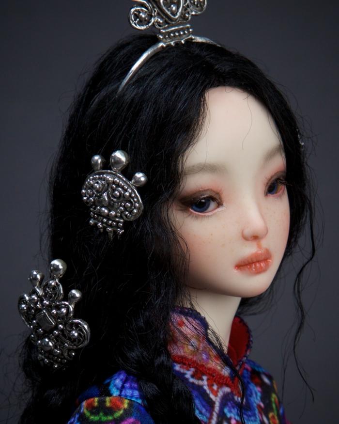 poupée réaliste de porcelaine faite main marina bychkova
