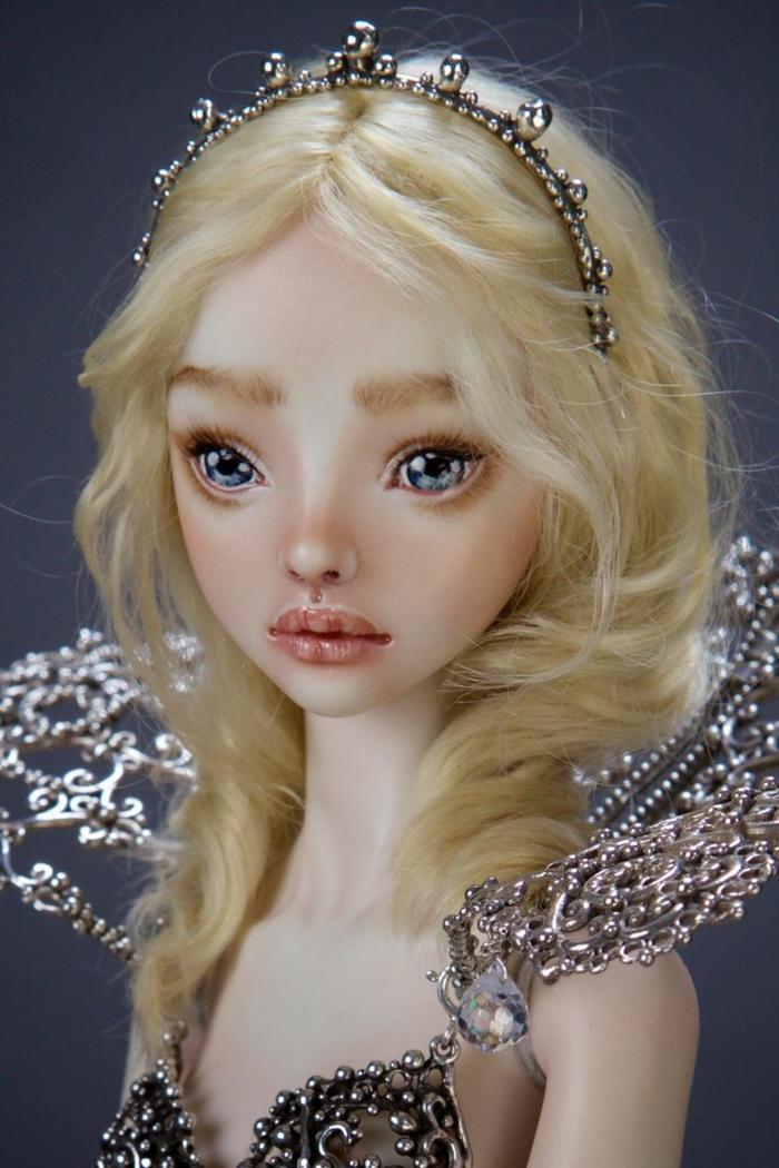 poupée réaliste de porcelaine marina bychkova