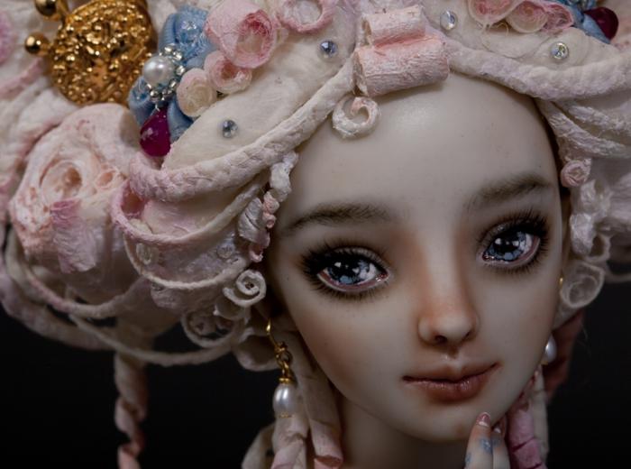 poupée réaliste enchanted doll marina bychkova