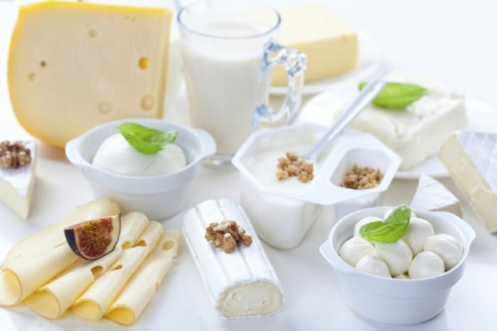 produits fait de lait fermenté