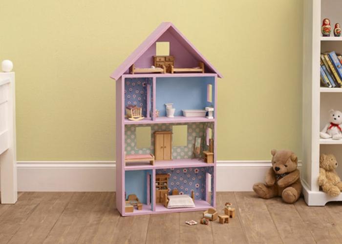 projet maison de poupée en bois à réaliser à la maison
