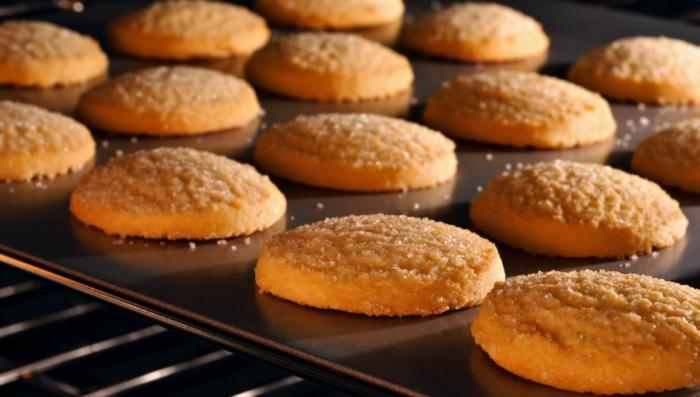 recette à la base de biscuits sablés