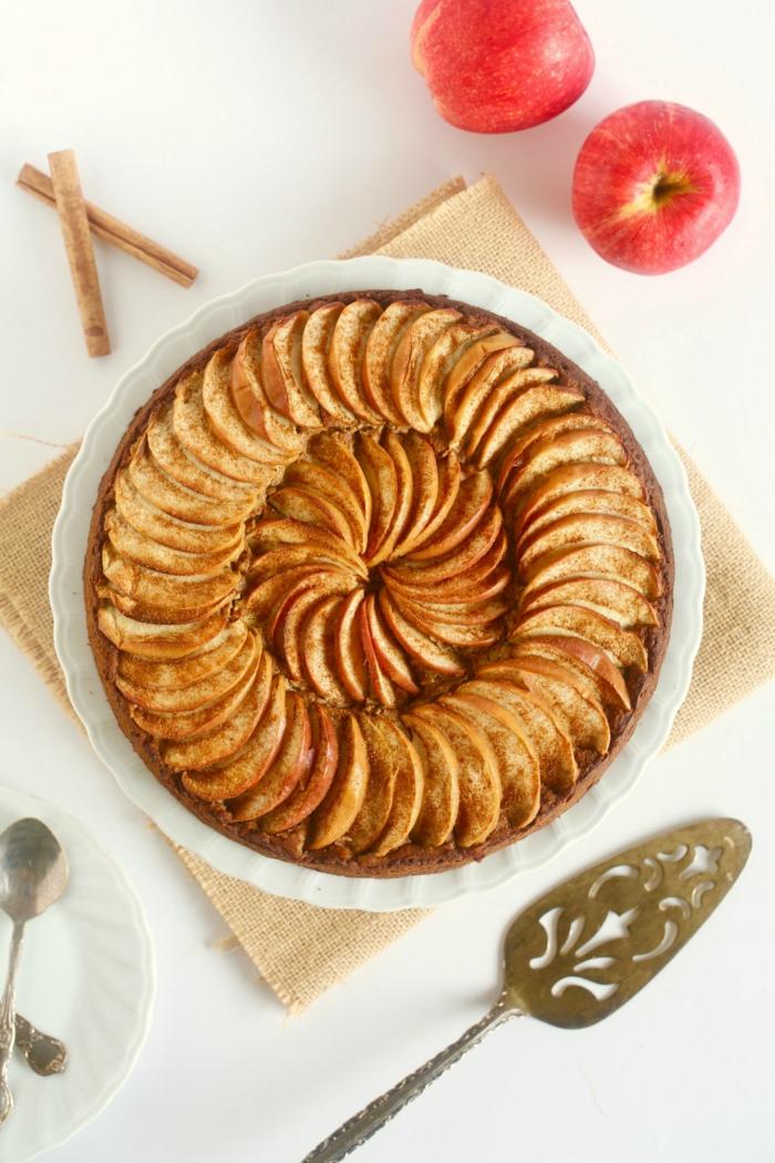 recette comment préparer un gâteau aux pommes
