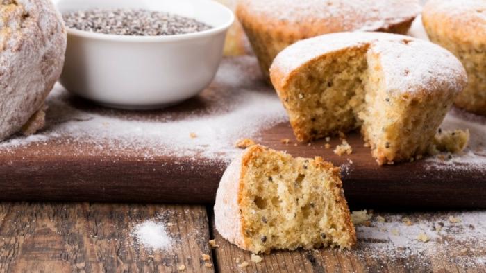 recette de muffins avec graines de chia