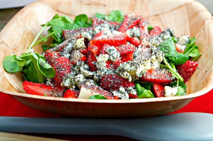 recette salade aux fruits et graines de chia