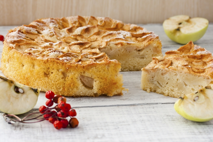 recettes de gâteau aux pommes