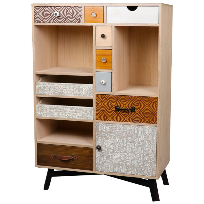 soldes meubles en motifs modernes